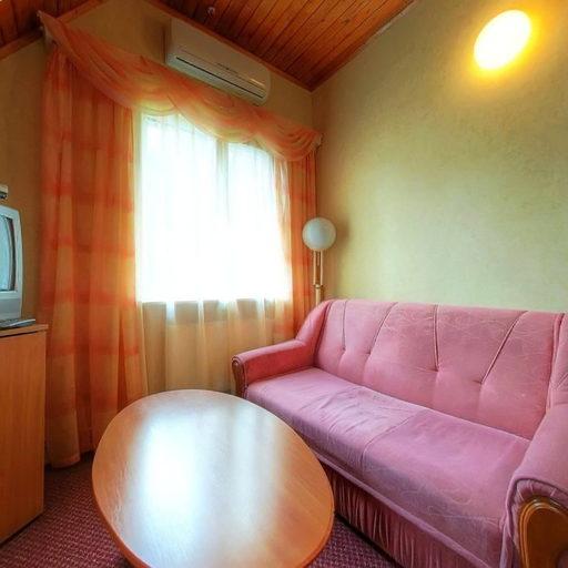 Двокімнатний котедж, вітальня