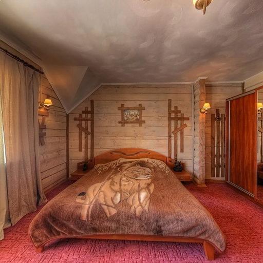 Котедж А, спальня