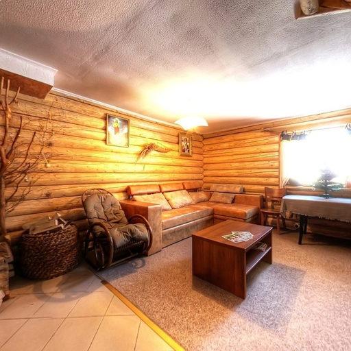 Український будиночок, вітальня