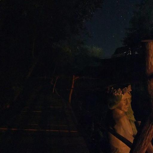 SPA-хата - Природна водойма (вночі)