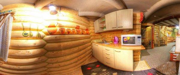 Котедж Колиба кухня
