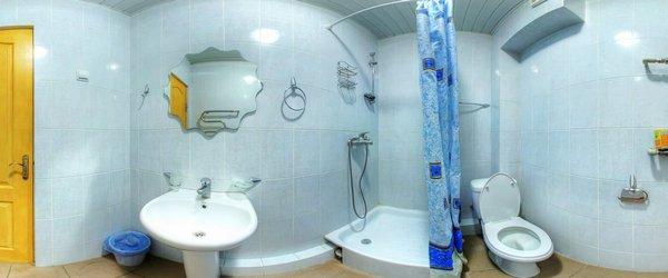 Напівлюкс двокімнатний, ванна кімната