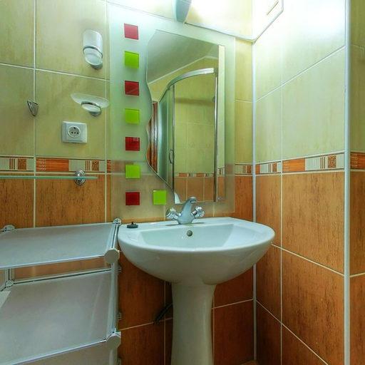 Люкс однокімнатний, ванна кімната