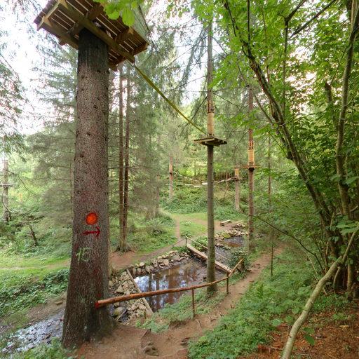 Мотузковий парк. Природа