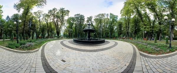Алеї, парк