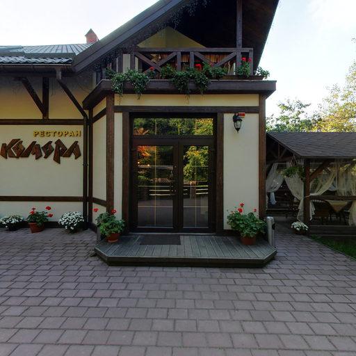 Подвір'я ресторану
