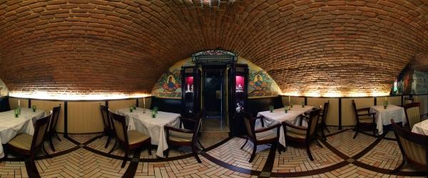 Ресторан-кондитерська «Вероніка», нижній поверх