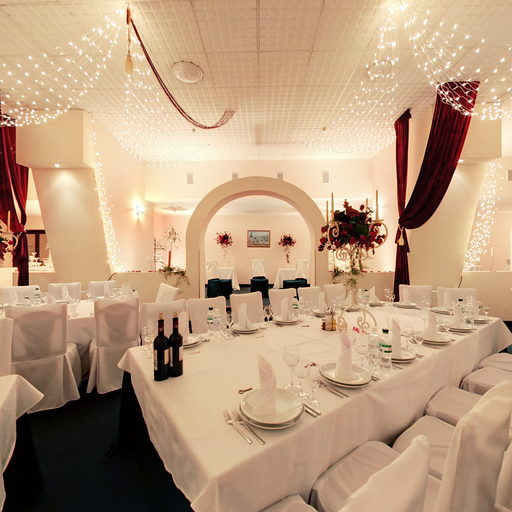 Banquet hall in Dnister Premier Hotel
