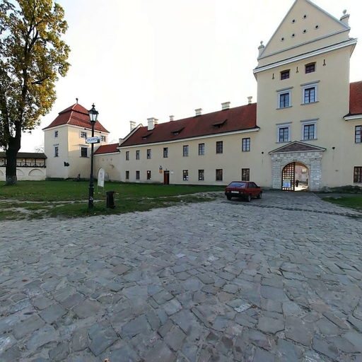 Medieval castle of Zhovkevski